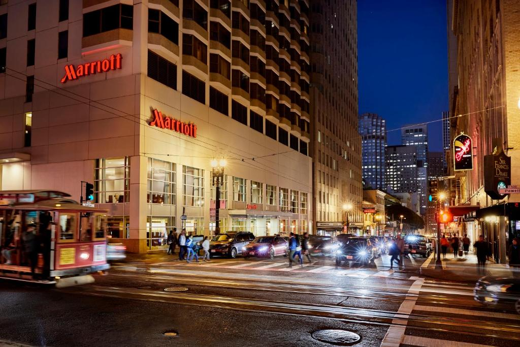 The San Francisco Marriott Union Square.