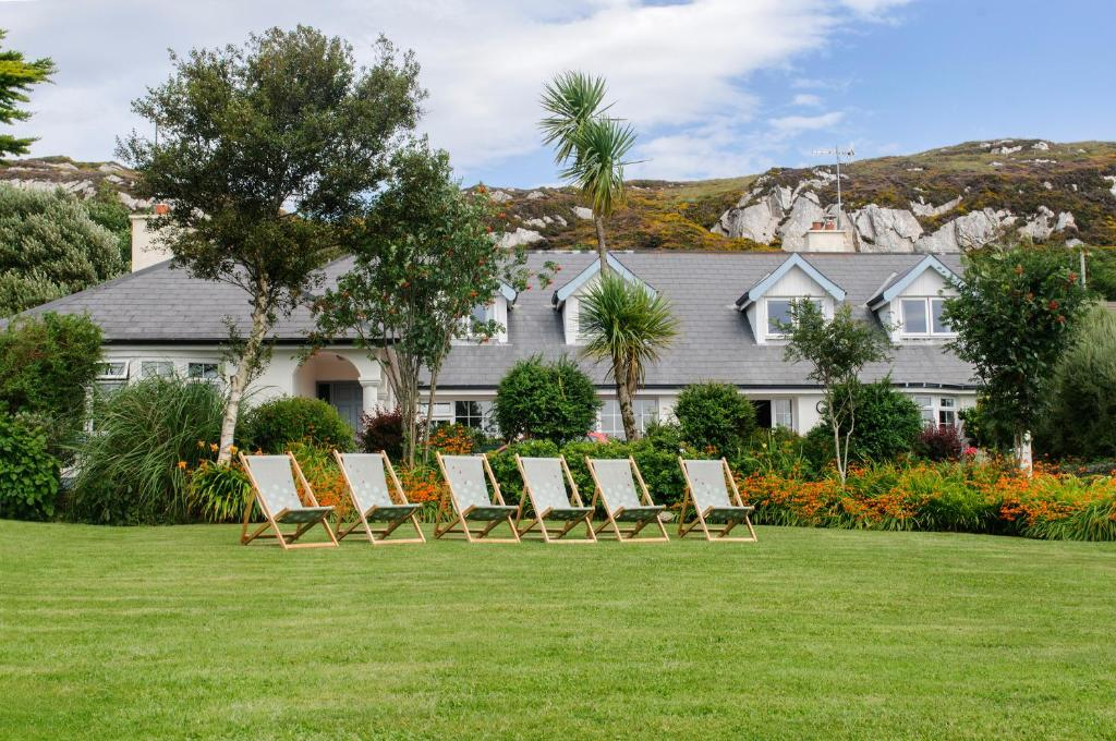 Jardin de l'établissement Hillside Lodge B&B