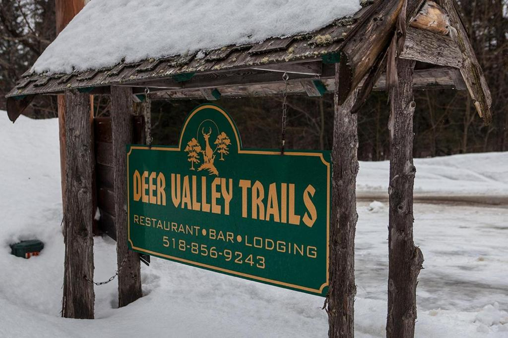 Deer Valley Trails during the winter