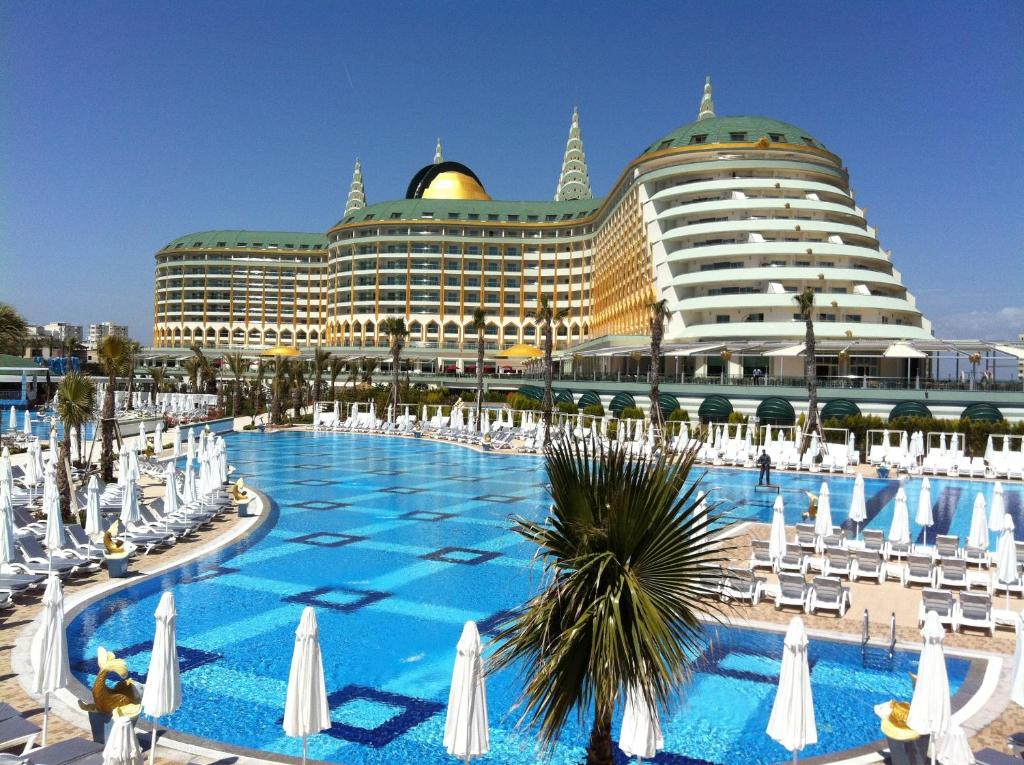 The swimming pool at or near Delphin Imperial Lara