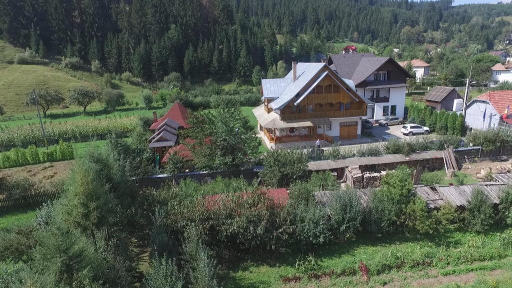 A bird's-eye view of Pensiunea Casa Elvira