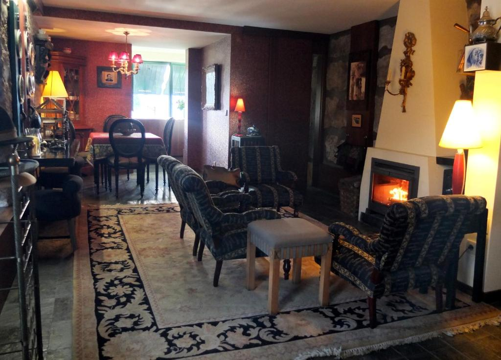The lounge or bar area at Family Secrets Douro