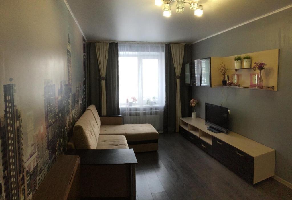 Гостиная зона в Апартаменты на Ленина 145