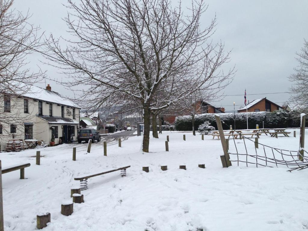The Swan at Great Kimble during the winter