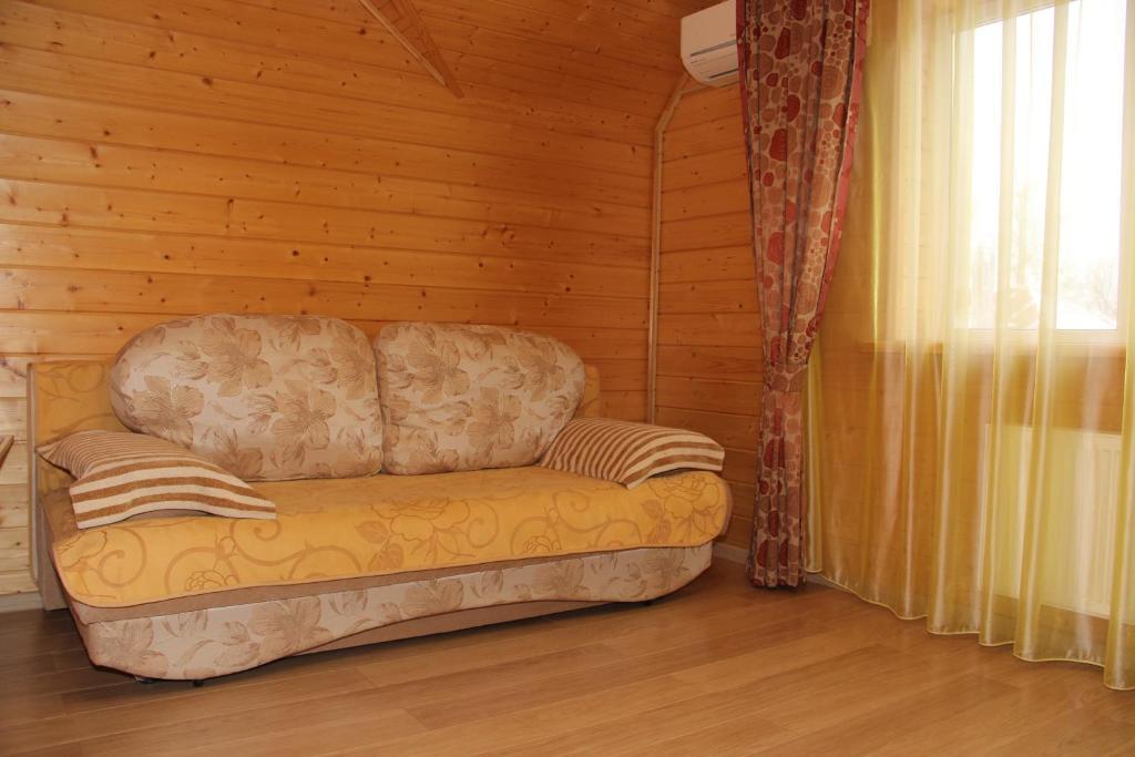 A seating area at U Kremlya Guest House