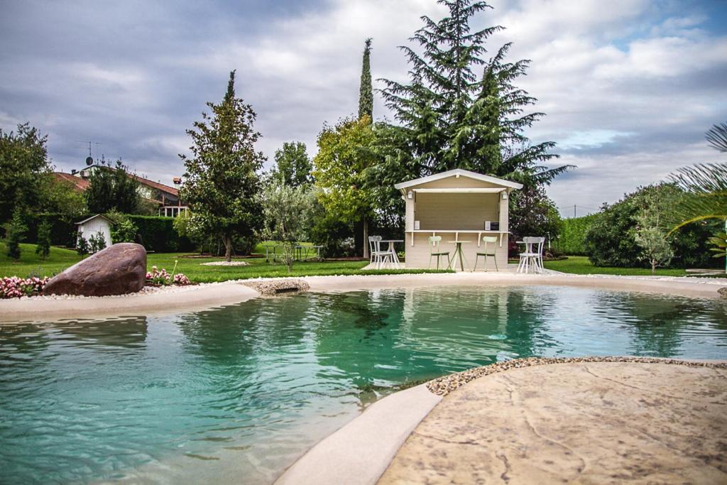 The swimming pool at or near B&B La Magia dei Sogni Relais