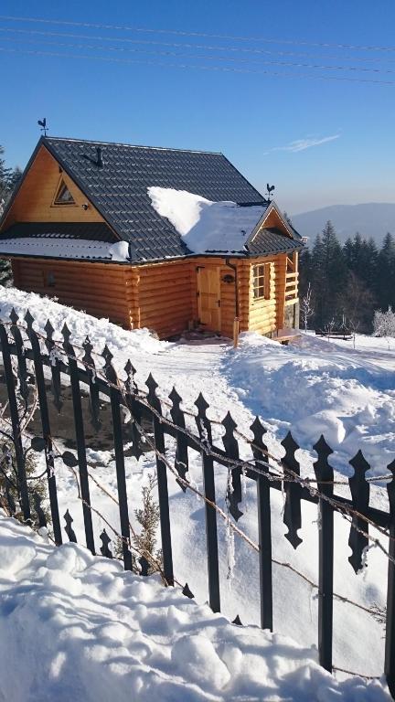 Obiekt Domek Bala Z Kominkiem zimą