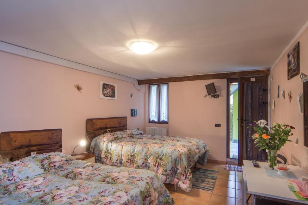 Letto o letti in una camera di Le Cantine Del Vecchio Borgo