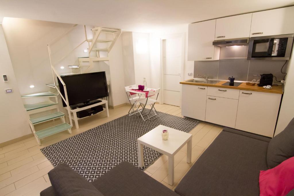 Kuchnia lub aneks kuchenny w obiekcie Relax Partenopeo