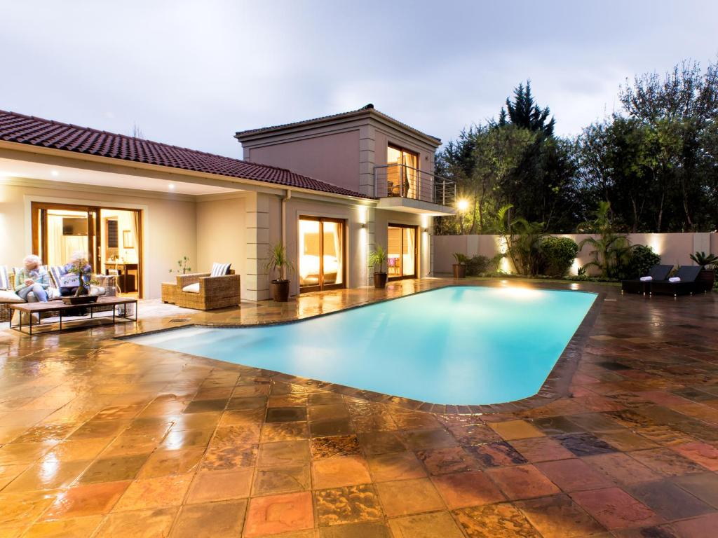 The swimming pool at or close to Lord Caledon Guest House