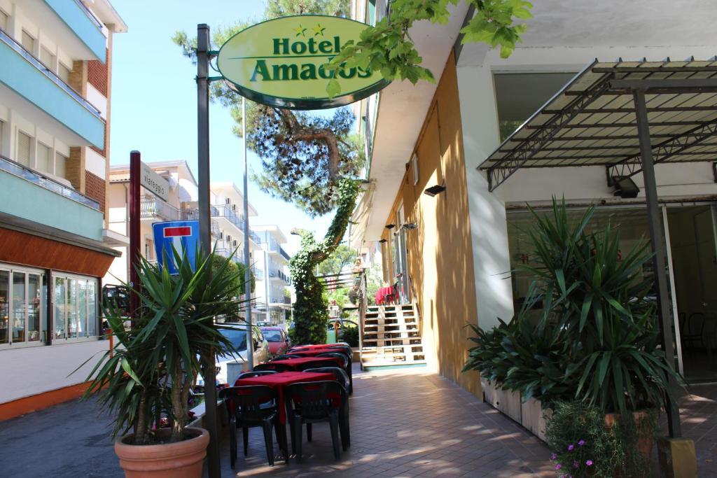 Hotel Amados Rimini, Italy