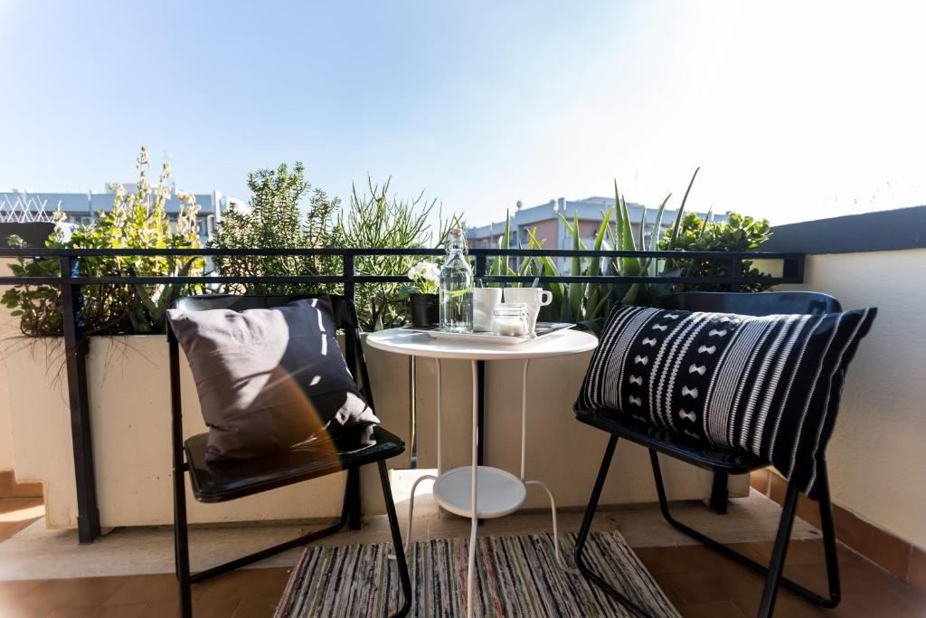 Balcone o terrazza di Casa Giordano