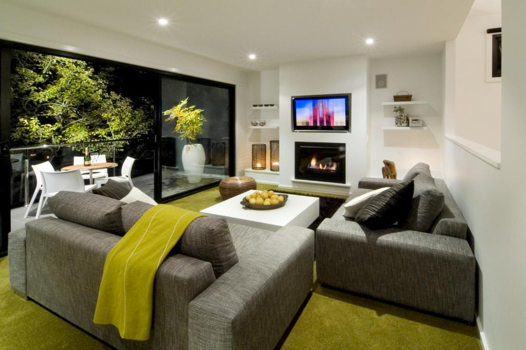A seating area at Saltus Luxury Accommodation