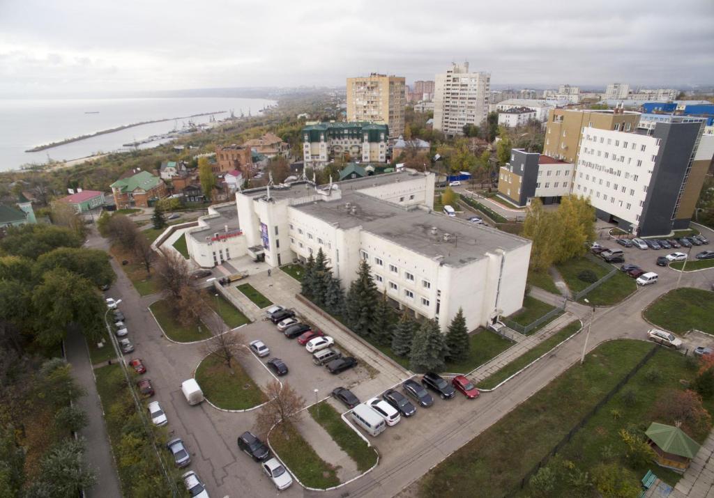 A bird's-eye view of Hotel Oktyabrskaya