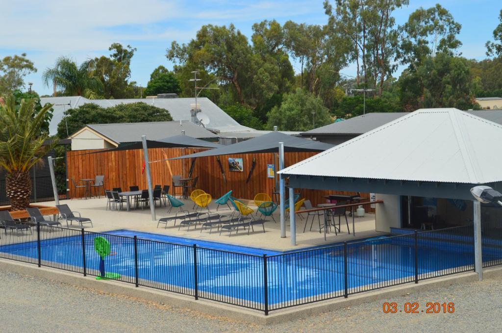 The swimming pool at or near Bundalong Villas