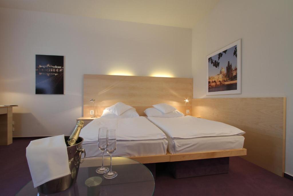 호텔 다프 객실 침대