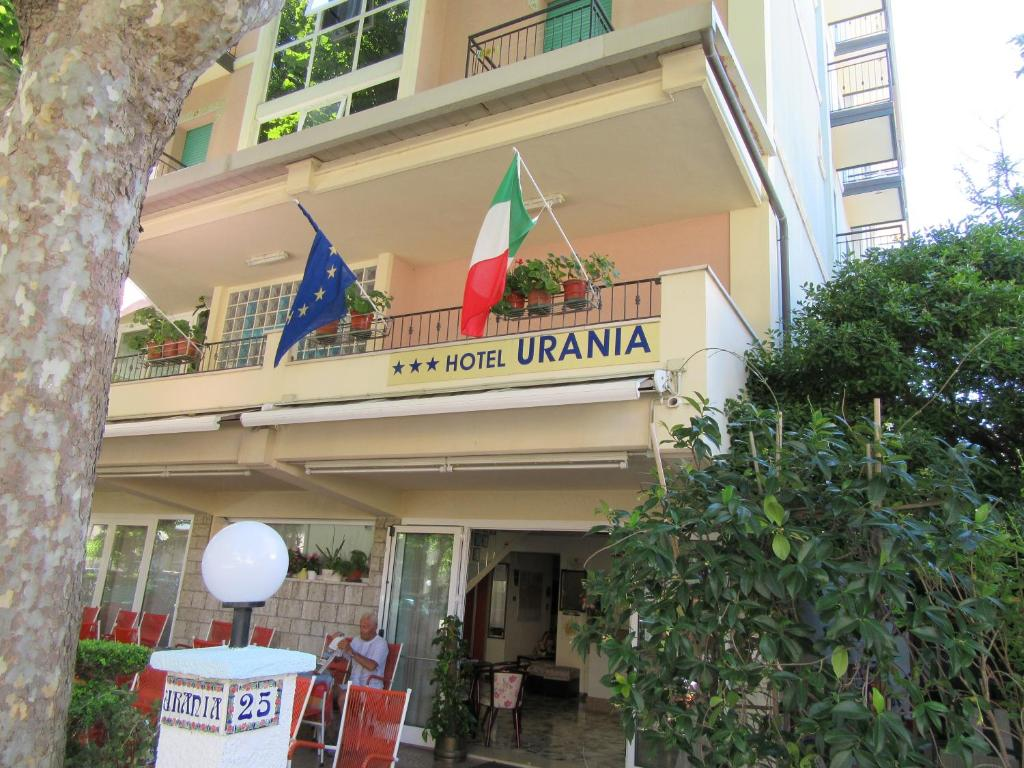 Hotel Urania Rimini, Italy