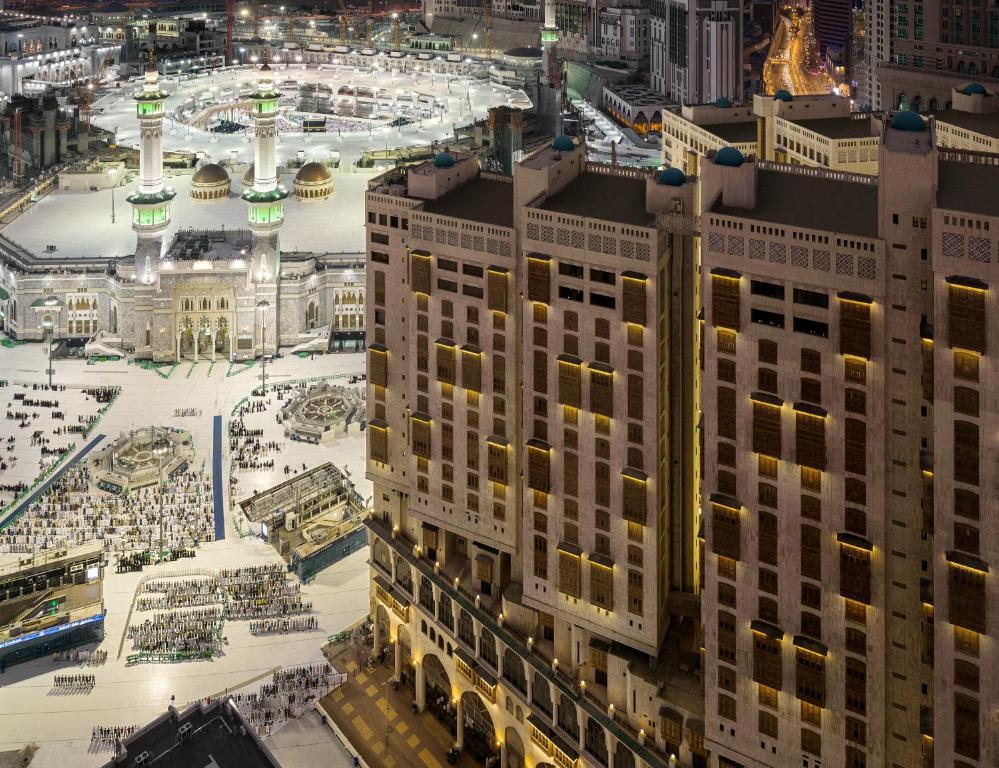 منظر Makkah Towers من الأعلى
