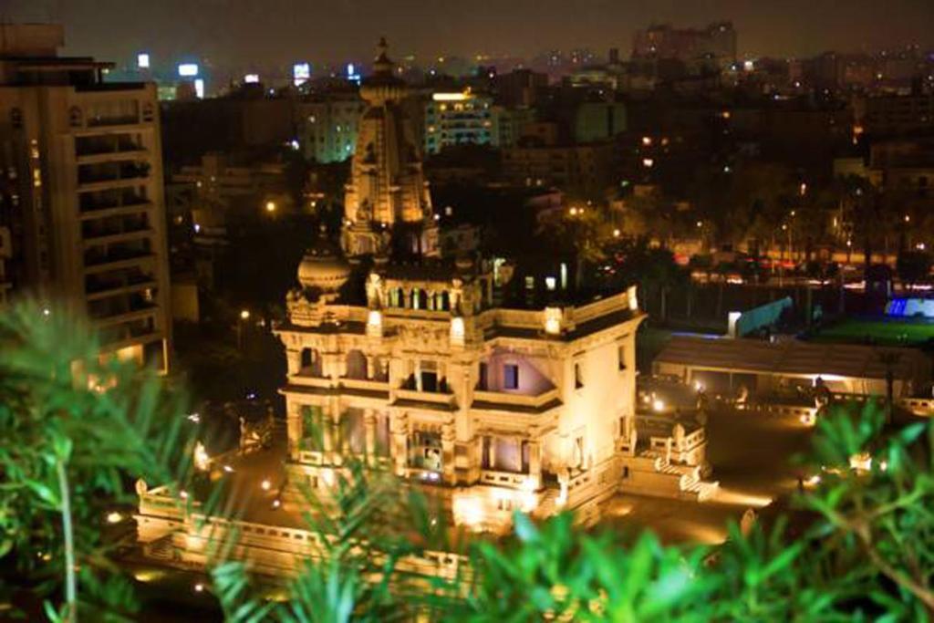 منظر فندق البارون هليوبوليس من الأعلى