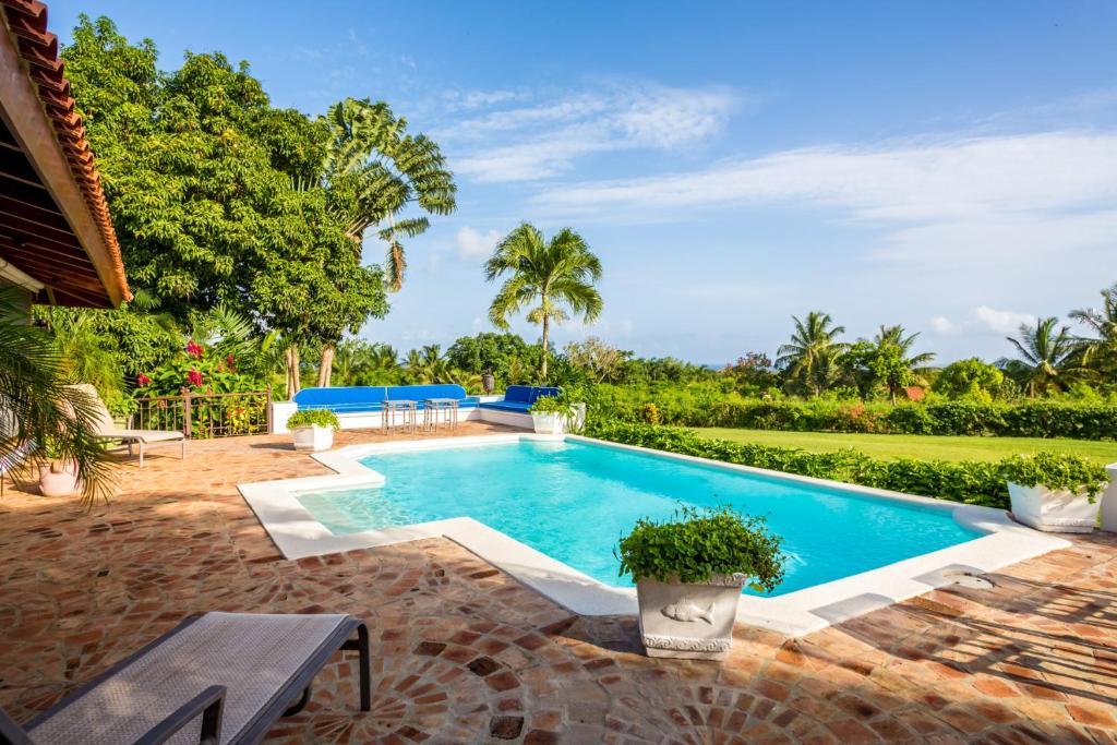 The swimming pool at or close to Villa Lucia Casa de Campo