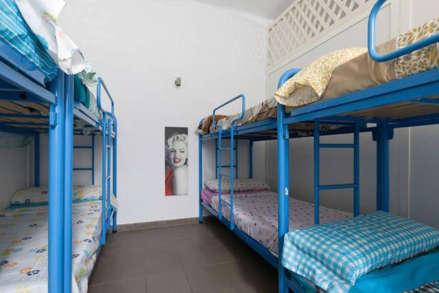 A bunk bed or bunk beds in a room at Bedcelona Gracia Hostel