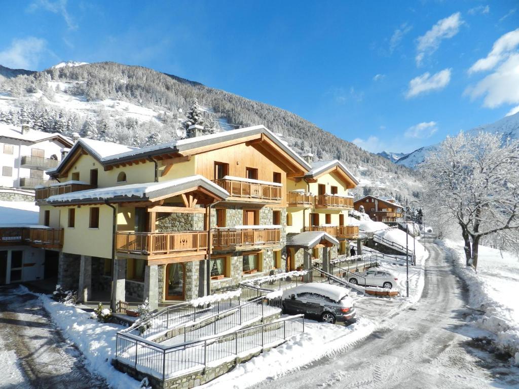 Residence Hotel Raggio Di Luce durante l'inverno