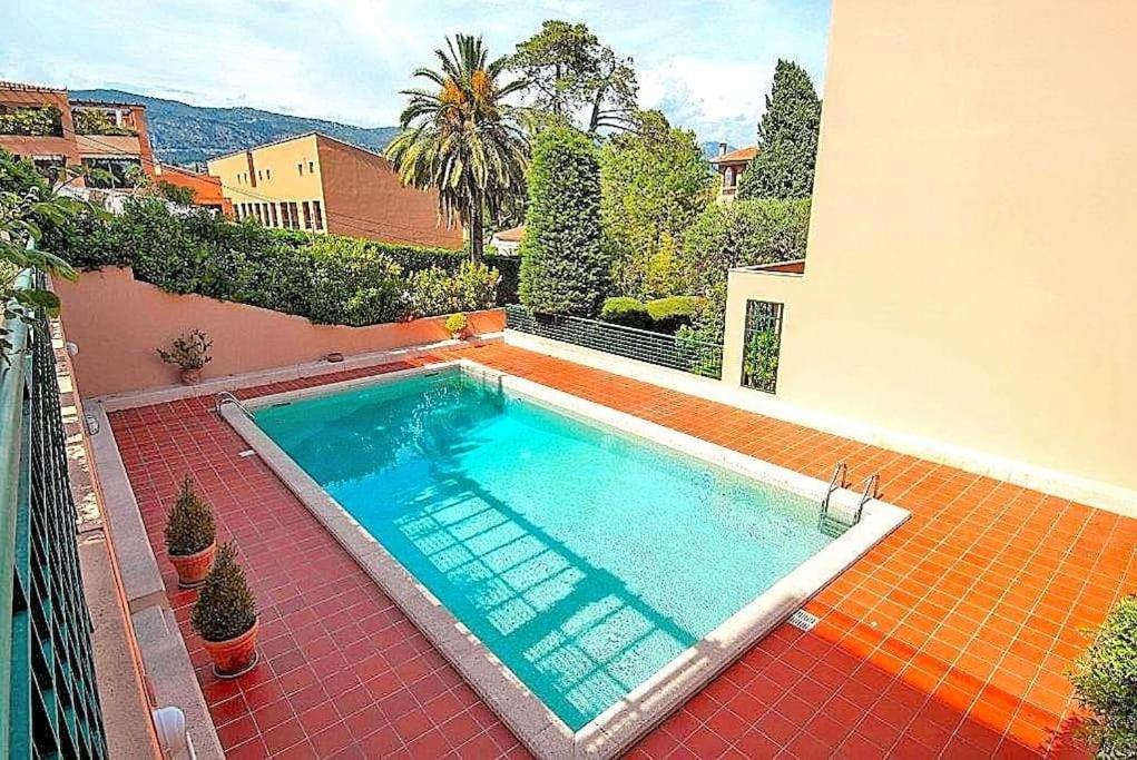 The swimming pool at or near Saint Jean Cap Ferrat