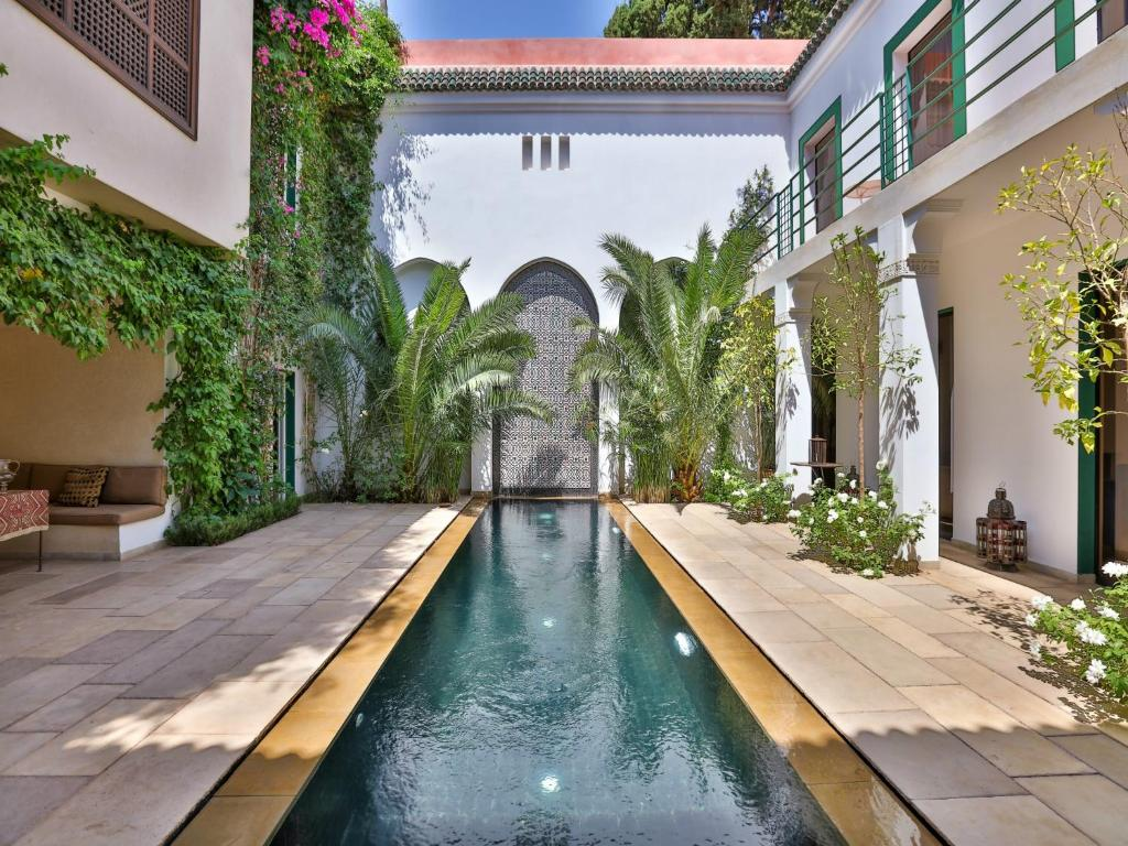The swimming pool at or near Riad Oasis 3