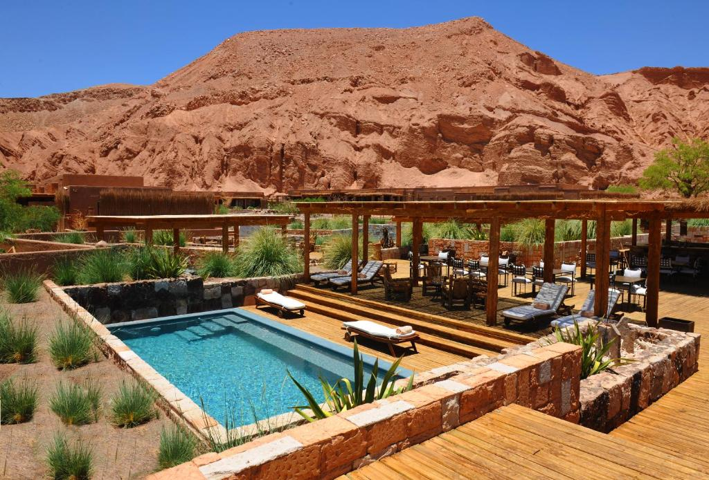The swimming pool at or near Alto Atacama Desert Lodge & Spa (All-inclusive)