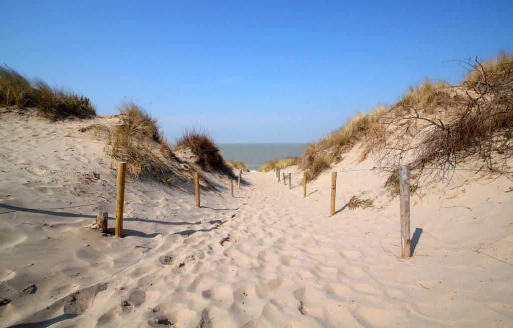 Vakantiewoning Intermezzo aan zee during the winter