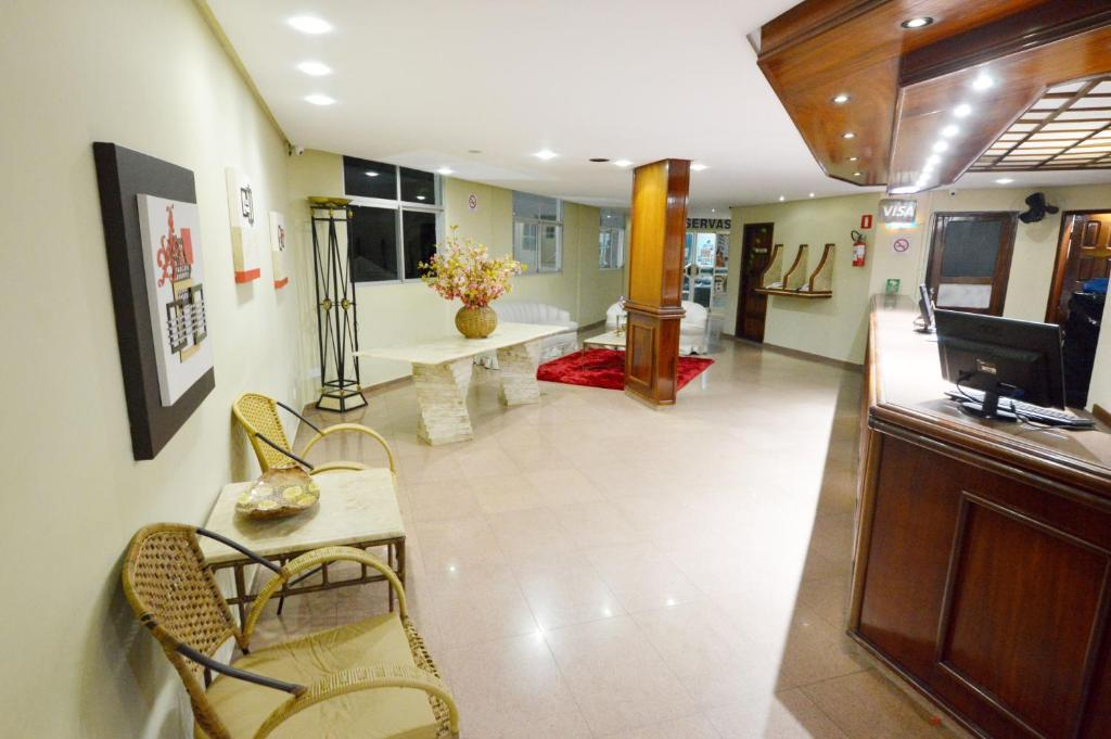 The lobby or reception area at Hotel Jalim