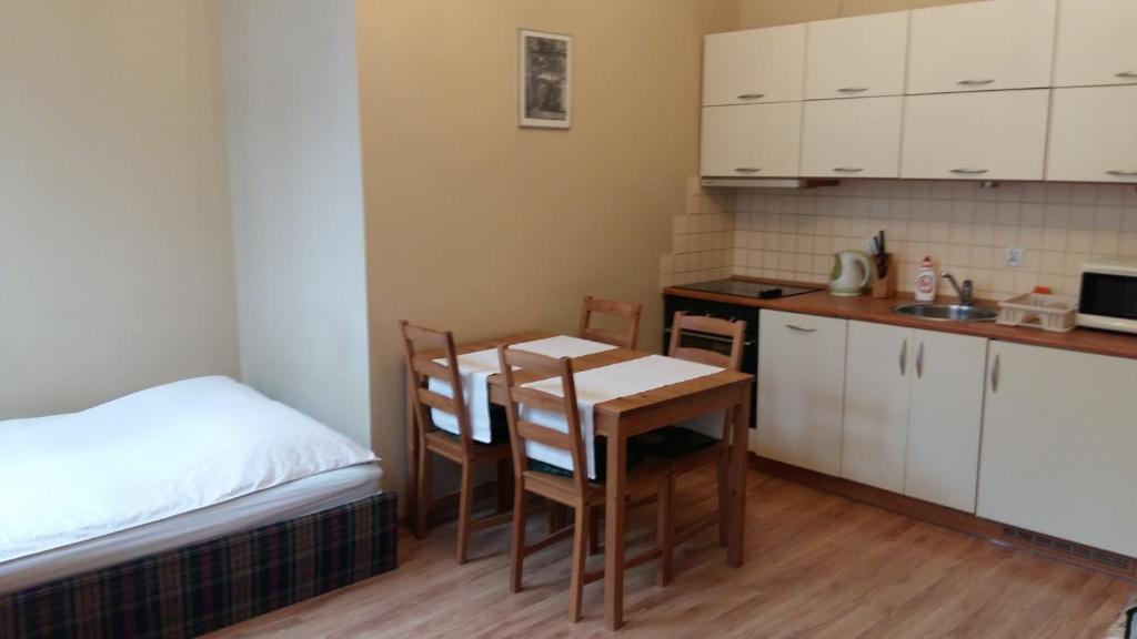 Kuchnia lub aneks kuchenny w obiekcie Apartament Ogarna