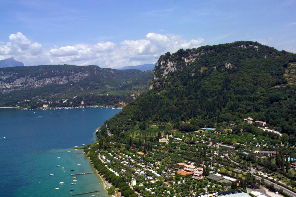 A bird's-eye view of La Rocca Camping Village