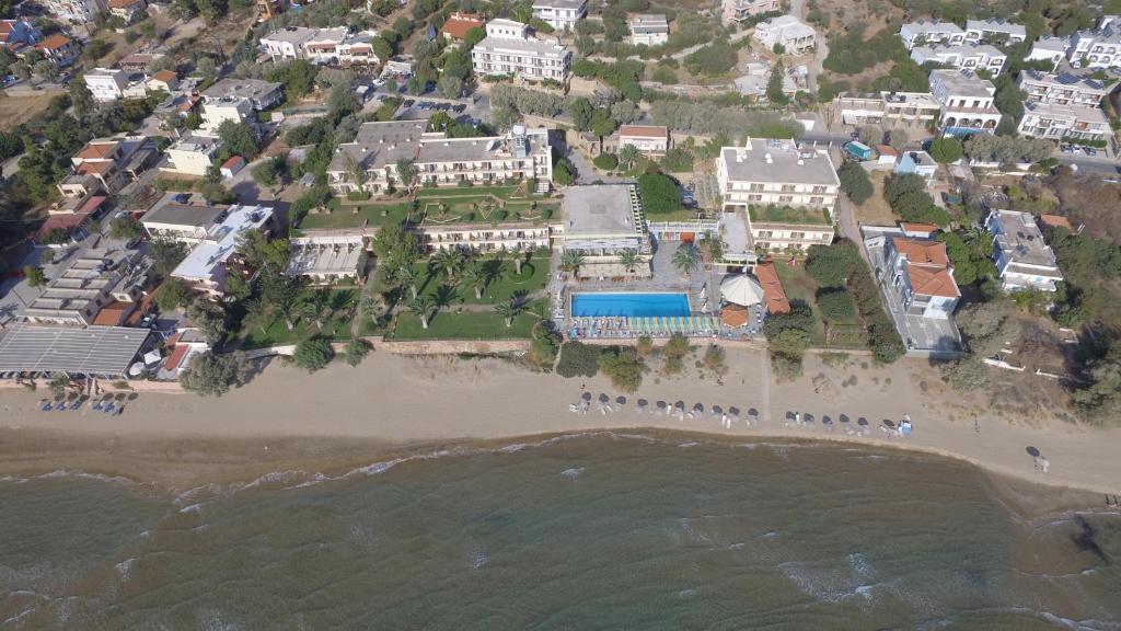 Άποψη από ψηλά του Golden Sand Hotel