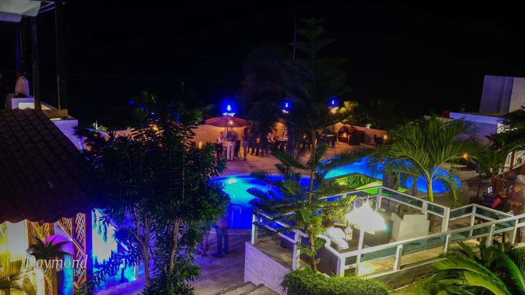Vista de la piscina de Daymond Blue Tropical Lodge o alrededores