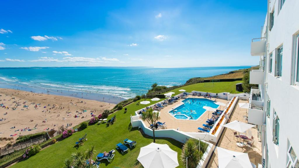 A view of the pool at Saunton Sands Hotel Source Spa and Wellness or nearby