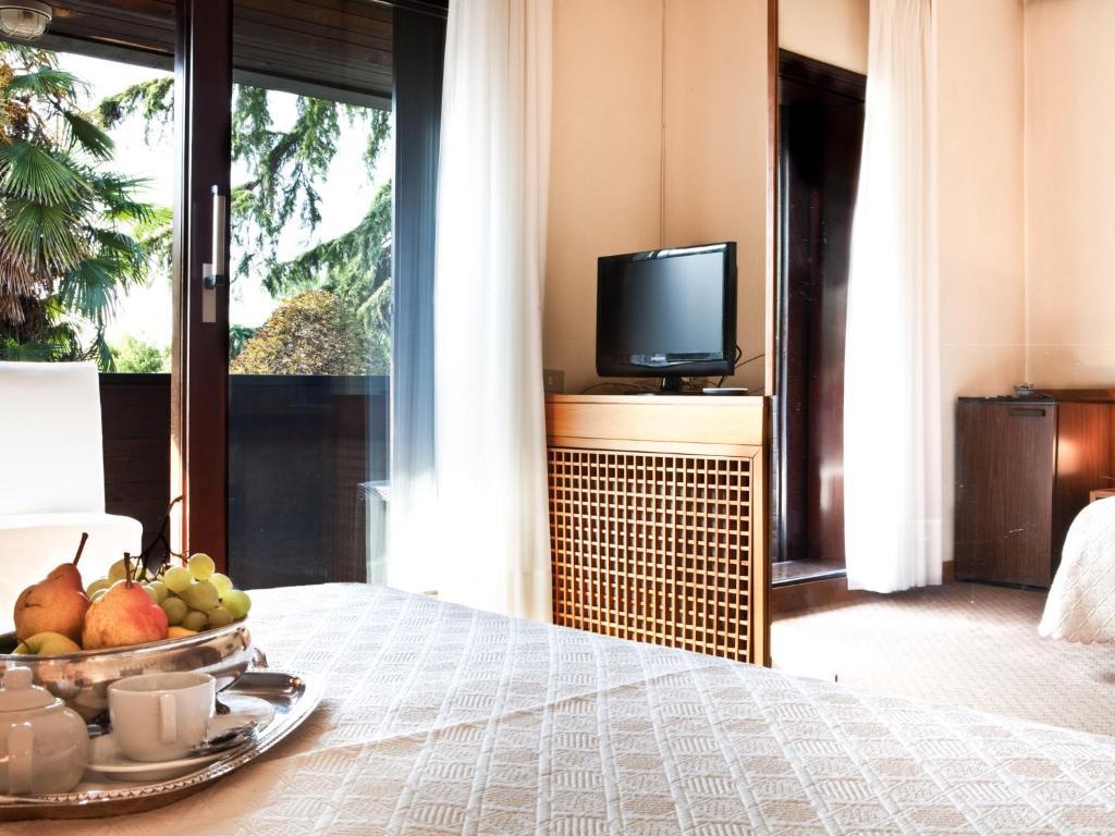 TV o dispositivi per l'intrattenimento presso Hotel Due Mori