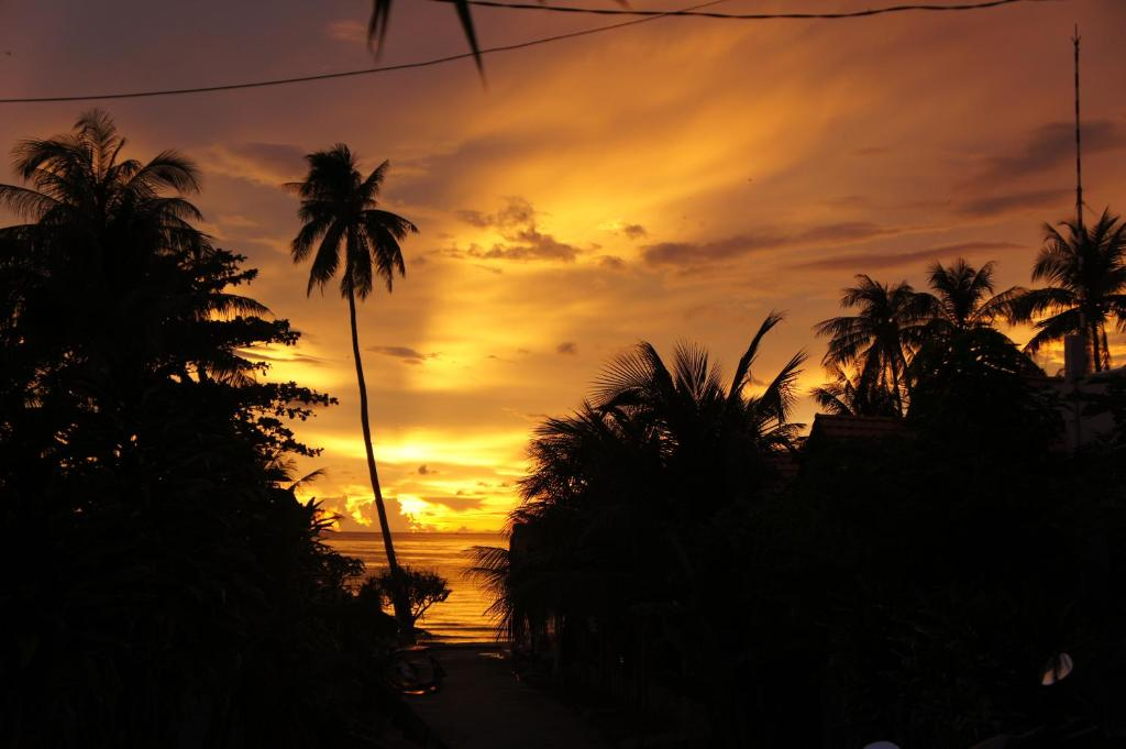 The sunrise or sunset as seen from the resort or nearby