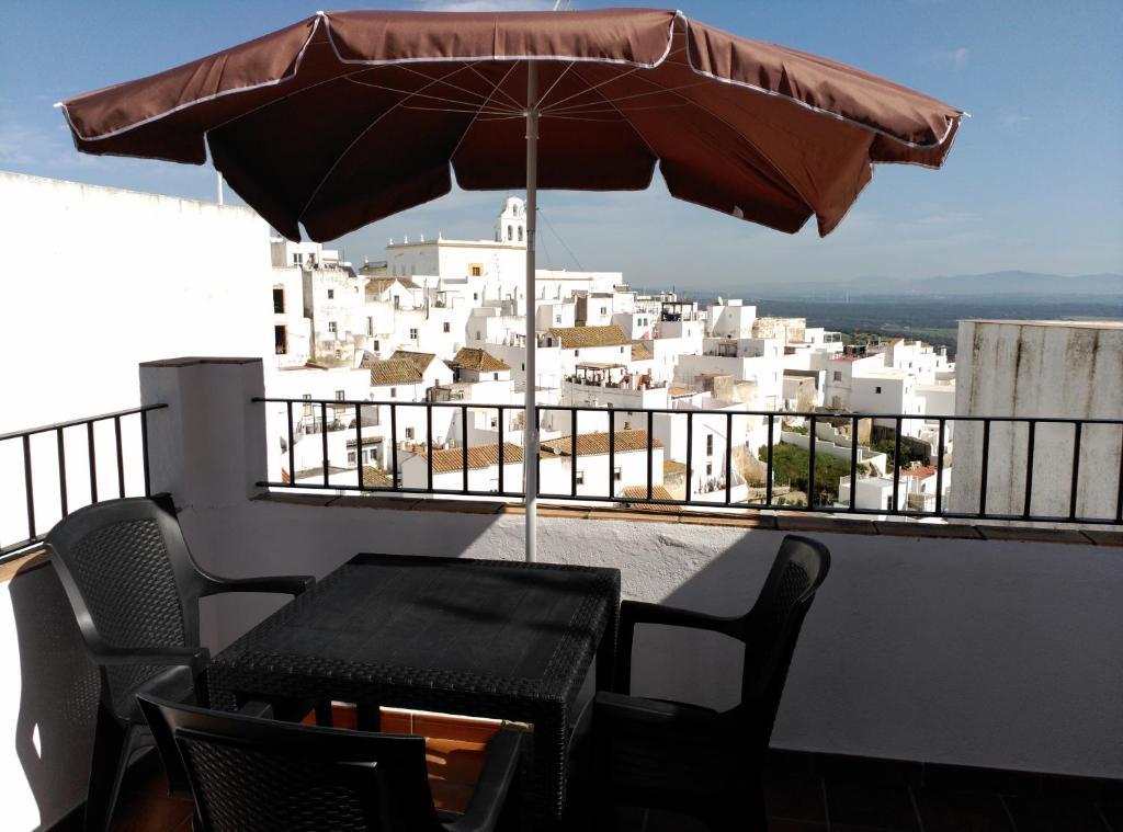 A balcony or terrace at Casita Tacande