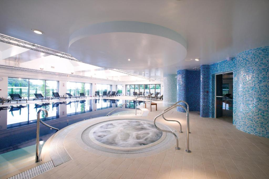 The swimming pool at or near Donnington Valley Hotel, Golf & Spa