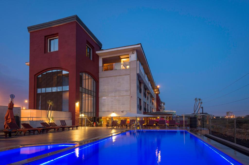 The swimming pool at or near 254 Ole Sereni
