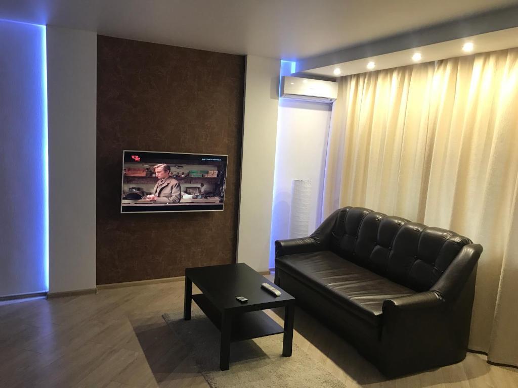 Гостиная зона в Apartment Inzhenernaya 108/62