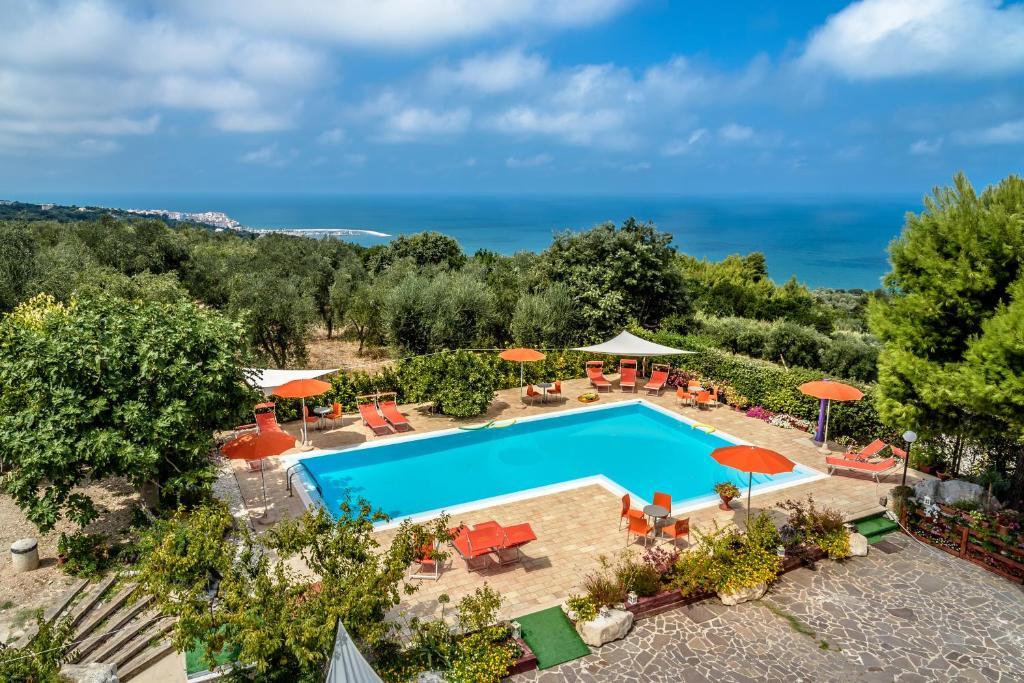 Vista sulla piscina di Agriturismo Nardini o su una piscina nei dintorni