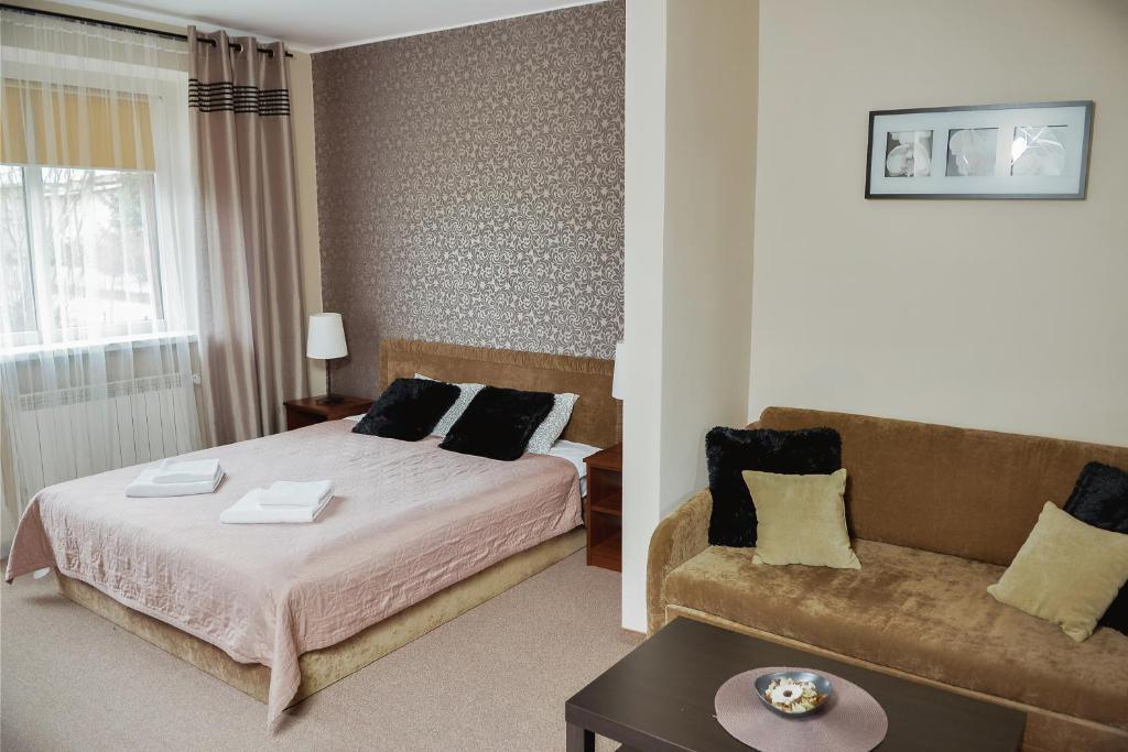 Łóżko lub łóżka w pokoju w obiekcie Villa Green