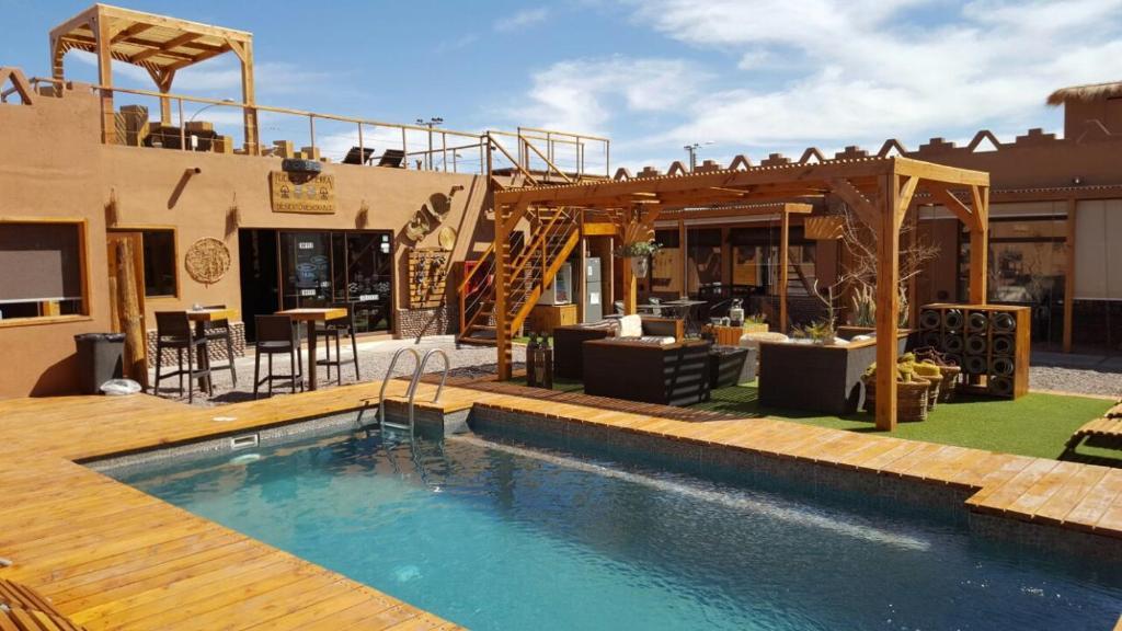 The swimming pool at or near Hoteles Pueblo de Tierra