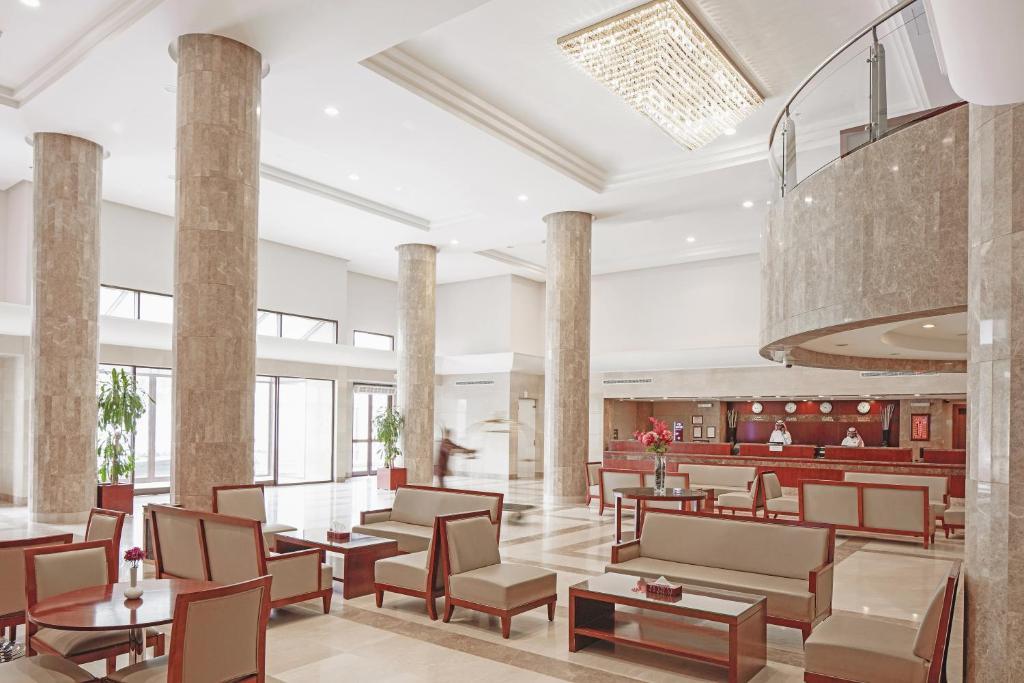 مطعم أو مكان آخر لتناول الطعام في فندق مكارم منى