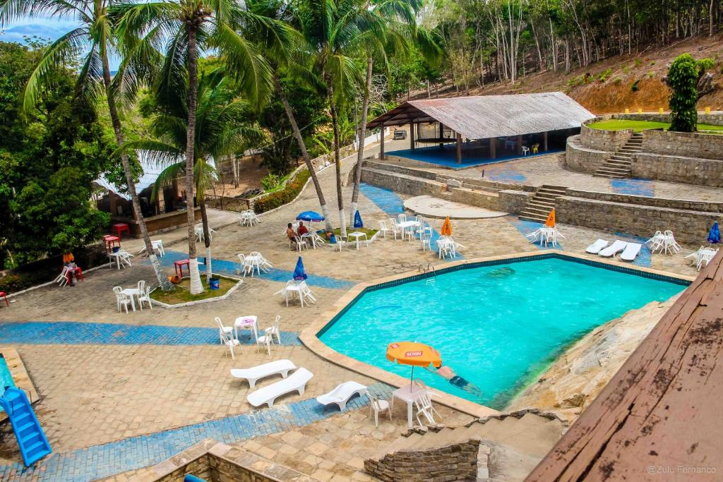 A view of the pool at Quilombo Hotel Fazenda or nearby