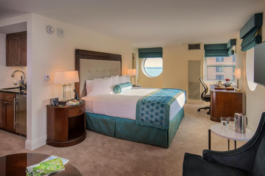 A room at The Edgewater.