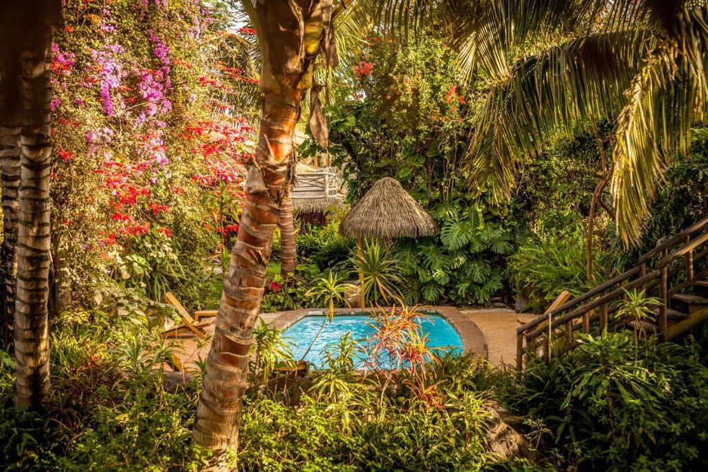 Vista de la piscina de Hotel Manavai o alrededores