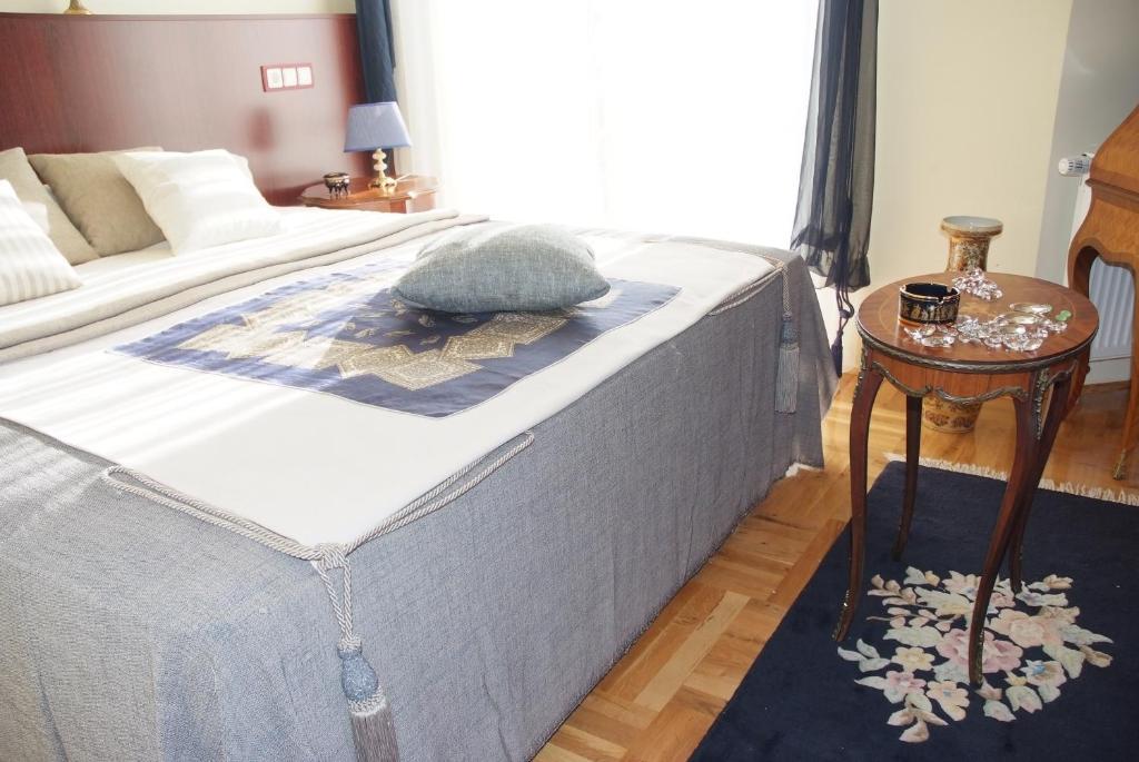 Posteľ alebo postele v izbe v ubytovaní Hotel Octagon